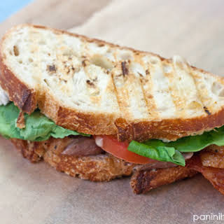 Grilled Duck Breast Club Panini.