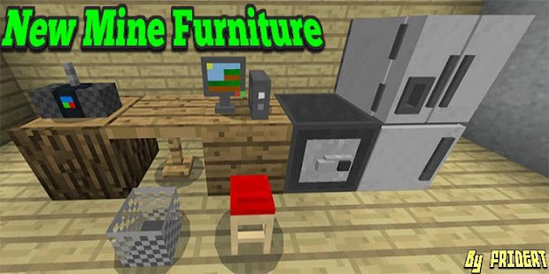 New Addon Mine Furniture For MCPE - Google Play 앱
