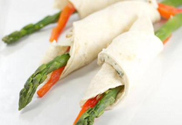 Asparagus Roll-ups With Blue Cheese Recipe