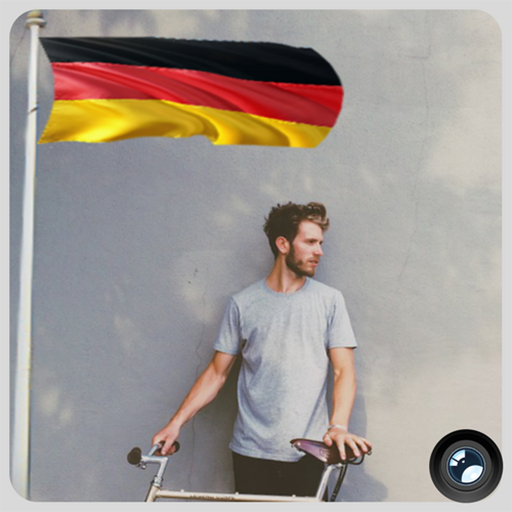 Germany Flag In Your picture : Photo Editor
