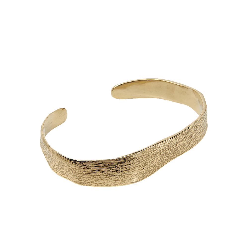 Cornelia Webb, guldpläterat mässing armband