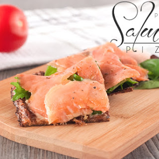 Incredible Salmon Lox Paleo Pizza