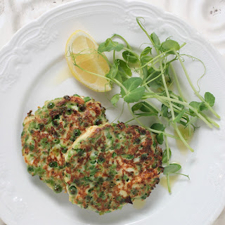 Green Pea Fritters.