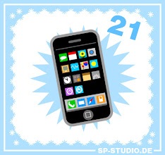 Photo: Today I have a very expensive gift for you: A smartphone for your sp-studio.de characters! And because it's the best known brand my drawing was mainly inspired by the Apple iPhone.