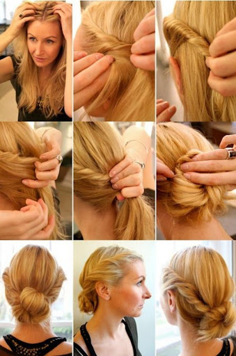 Girl's Hairstyles Step-by-step