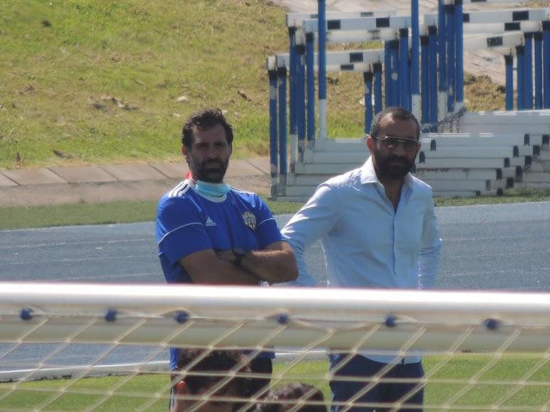 Jesús Muñoz y El Assy.