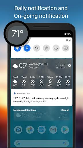 Weather & Widget - Weawow 4.4.2 screenshots 6