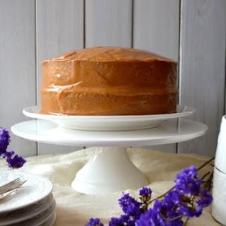 Classic Peanut Butter Cake.