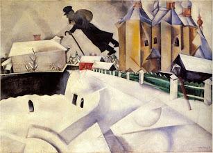 "Photo: Marc Chagall, ""Sopra Vitebsk"" (1914)"
