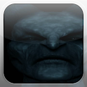 Black Demon Fire Flames LWP icon