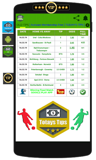Winning Fixed Match VIP screenshot 3
