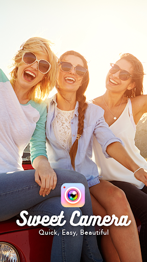 Sweet Camera - Selfie Beauty Camera, Filters screenshot