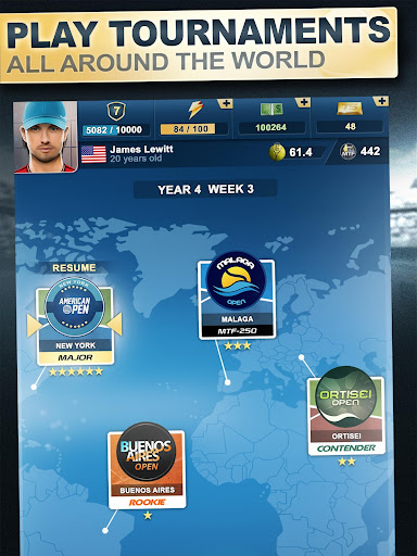 TOP SEED Tennis: Sports Management & Strategy Game 2.34.7 screenshots 10