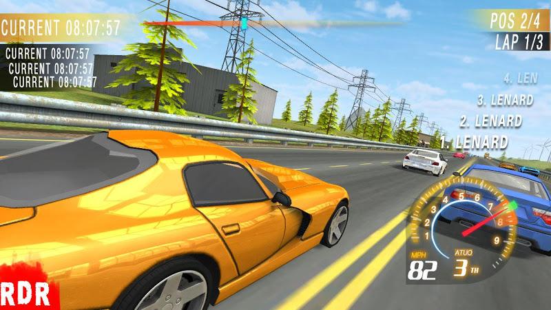 Скриншот Traffic Racing Driver
