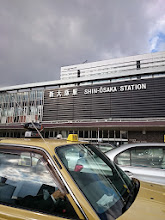 Photo: 駅周辺はタクシーだらけです! ここからセカンドステージの中村さんにお世話になります。