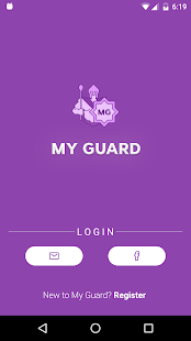 MyGuardApps - náhled