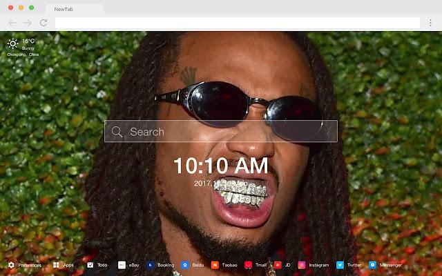 Quavo New Tab Page HD Singer Themes