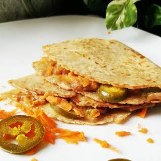 Spicy Peanut Tortilla Sandwiches.
