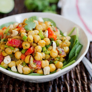 Curried Chickpea Salad.