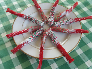 Twizzler's @ Almond Bark Recipe