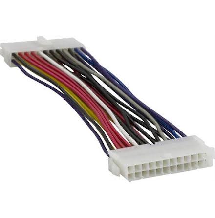 DELTACO förlängningskablage EPS/ATX12V ver 2.0 nätdel - moderkort, 15cm