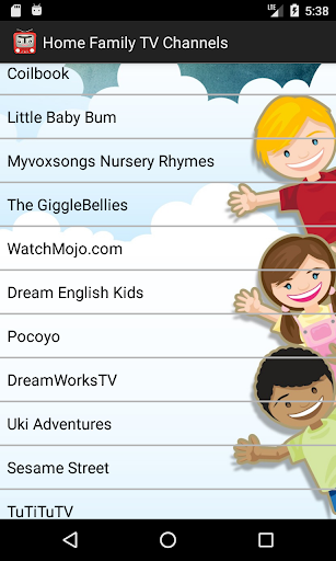Home Family TV channels 2.1.0 screenshots 4