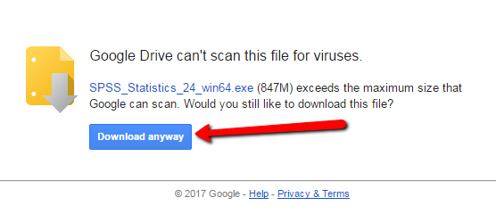 Google Drive Download Approval