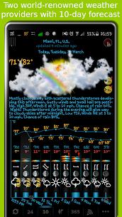 eWeather HD – clima, calidad del aire, terremotos 1