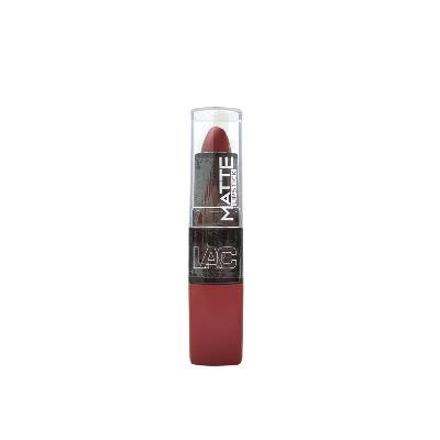 LABIAL LA COLORS MATE 470 Estos labiales proporcionan un color intenso en un acabado matte, sin resecar los labios para el uso diario. Su fórmula de larga duración permite un pigmentado de alta calidad que al secar se transforma en un acabado mate de secado rápido.