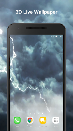Weather Live Wallpaper PRO screenshot 1 ...