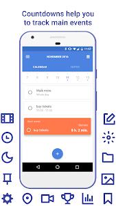 Daily: events, calendar, notes screenshot 5