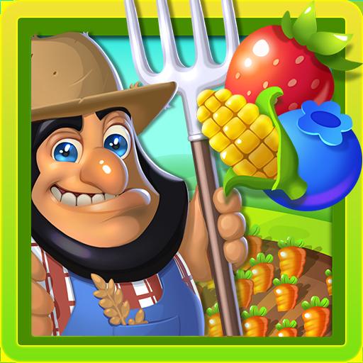 Farm and Garden: Harvest Mania Fruit match 3 game
