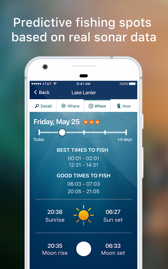 Netfish - Fishing Forecast App- screenshot