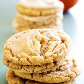 Pumpkin Spice Sugar Cookies.