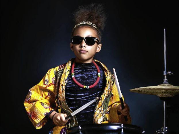 WATCH | SA-born little drummer girl Nandi Bushell jams with Lenny Kravitz