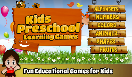 Kids Preschool Learning Games 1.0.4 screenshots 1