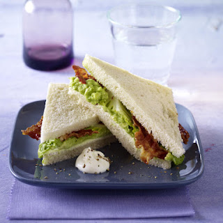 Bacon and Guacamole Sandwiches