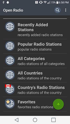 Open Radio screenshots 1