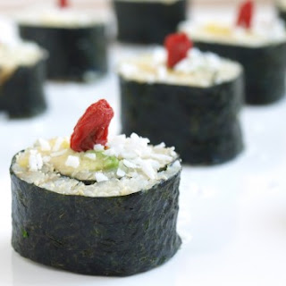 Tropical Quiona Sushi, Easy with a step by step guide