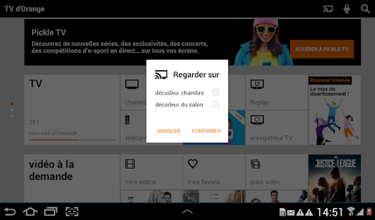 Download TV d'Orange, live-replay-vod For PC Windows and Mac apk screenshot 14