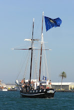 Photo: The Schooner Wolf, flagship of the Conch Republic Navy