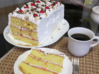 Pat's  Easy Cassata Cake Recipe