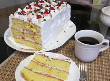 Pat's  Easy Cassata Cake