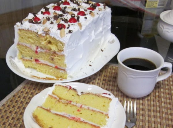 Pat's  Easy Cassata Cake Recipe