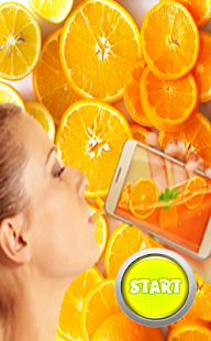 Drink orange From Phone - náhled