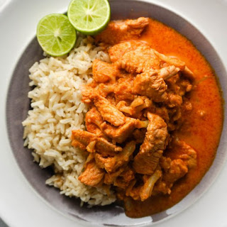 Thai Red Coconut Curry with Chicken Recipe