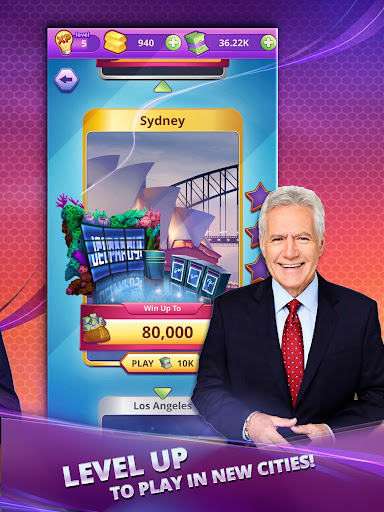 Jeopardy! World Tour game (apk) free download for Android/PC/Windows screenshot