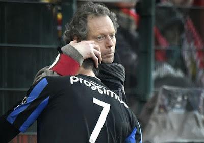 """Preud'Homme : """"Castillo voulait quitter Bruges"""""""