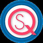 Simple Qamos English Arabic icon