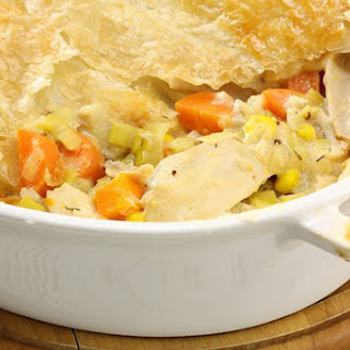 Chicken And Leek Pie Without Cream Recipes.